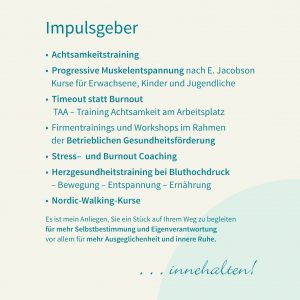 Firmentrainings und Workshops